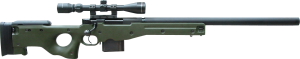 L96 snyper rifle Coverd Snyper Rifle
