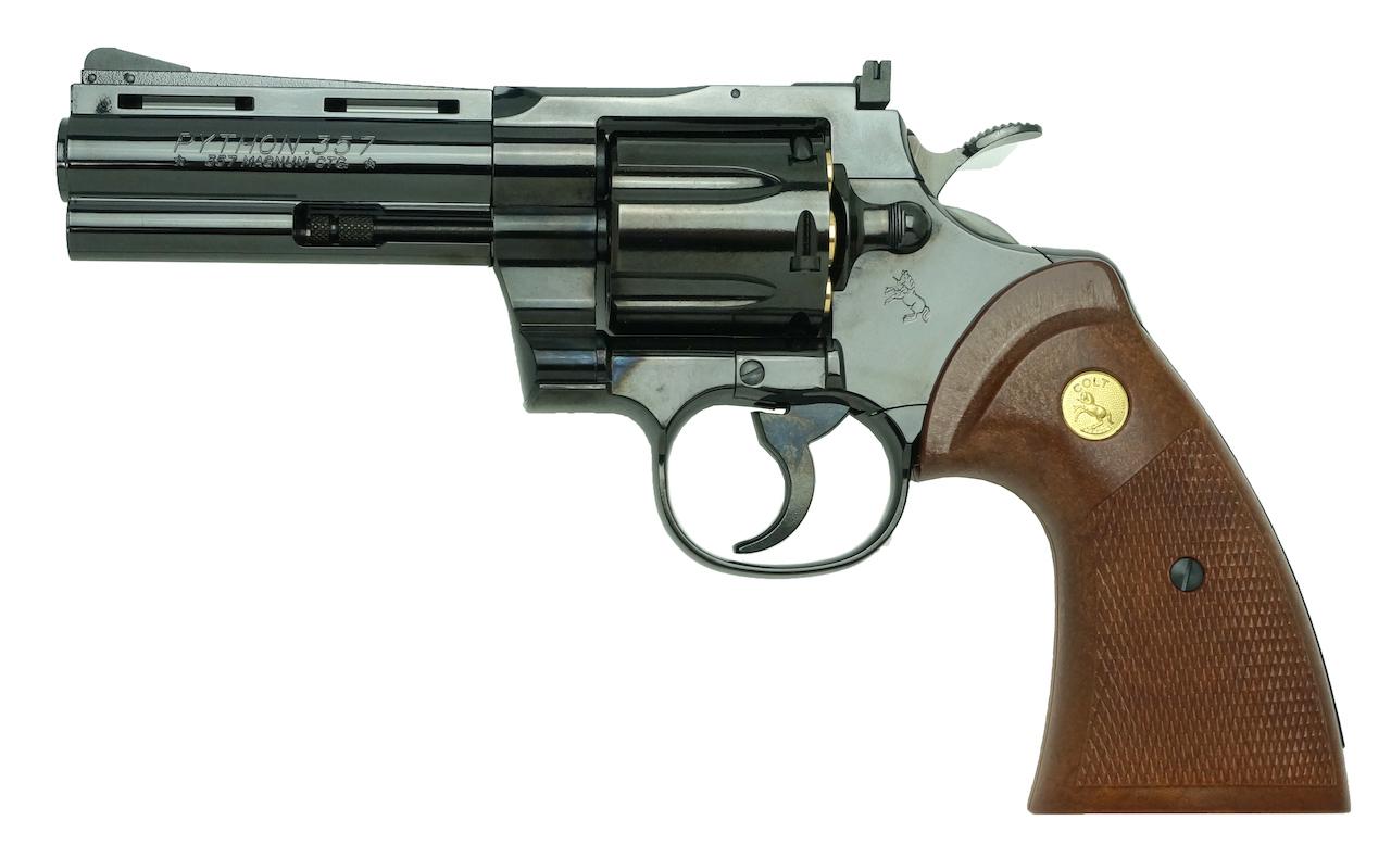 "Colt Python .357Magnum 4inch ""R-model"" スチールフィニッシュ"