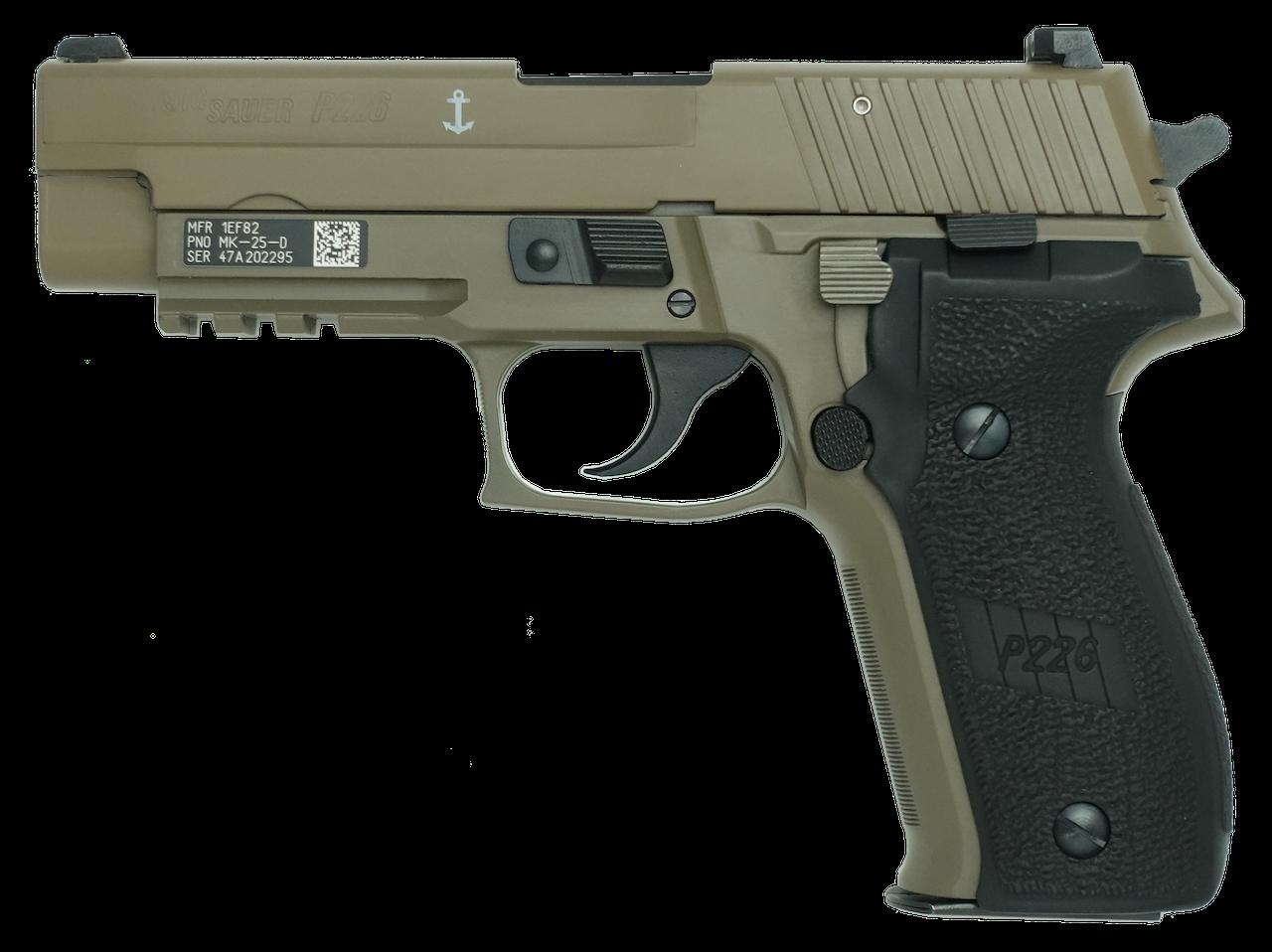 SIG P226 Mk25 Desert  EVO2 frame HW