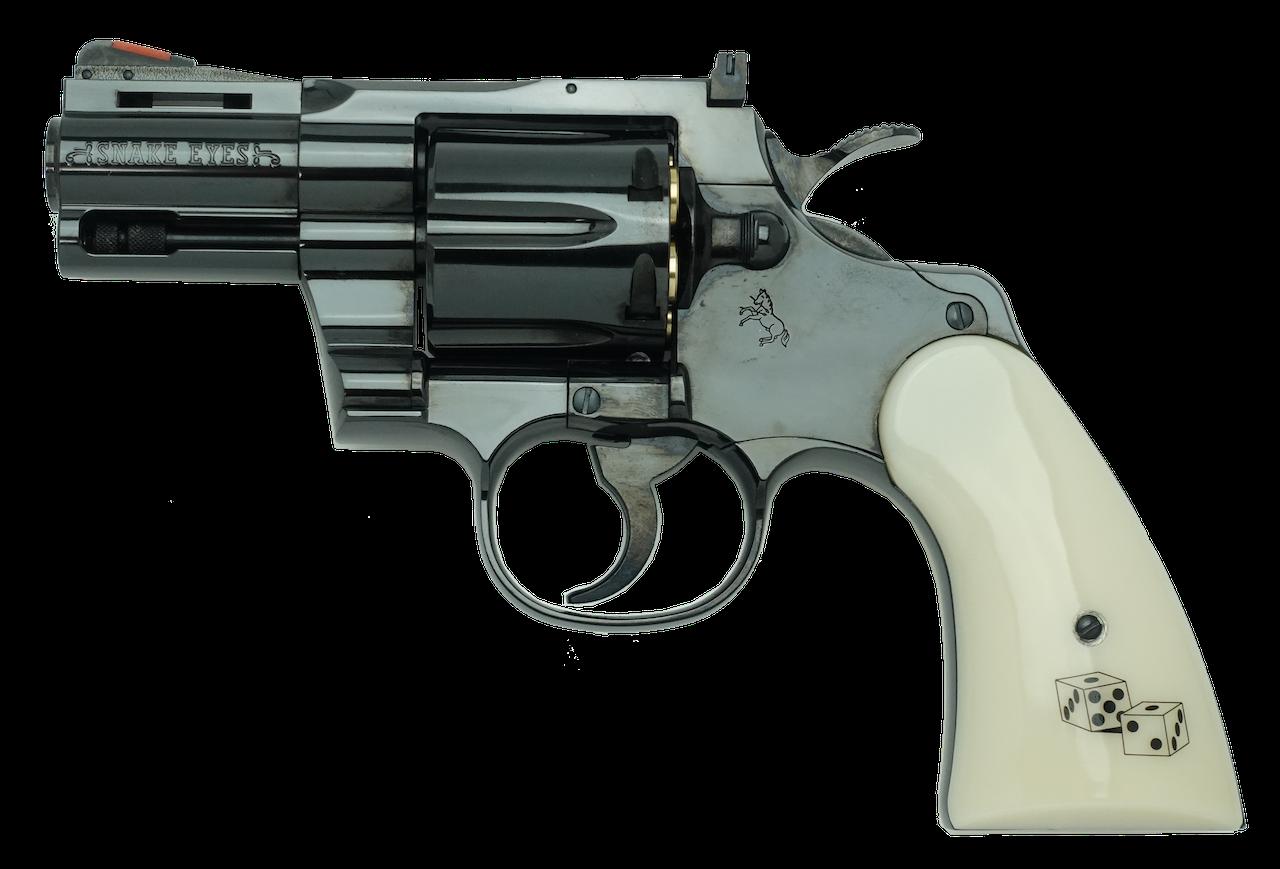 """Colt Python Snake Eyes  2.5inch """"R-model"""""""