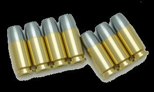 9mm Parabellum  Wキャップ・カートリッジ